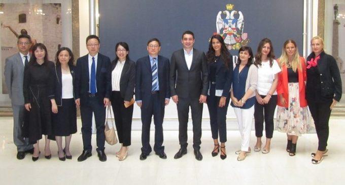Делегација Шангаја посетила Градски центар